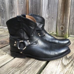 Frye harness boots size 8.5